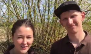 Amy og Ask Rasmussen Kiselgården