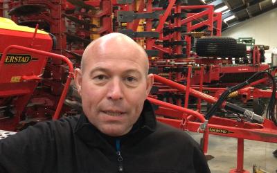 Michael Nielsen, økologisk og konventionel landmand fra Nordsjælland.