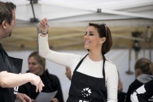 HKH Prinsesse Marie på Madens Folkemøde